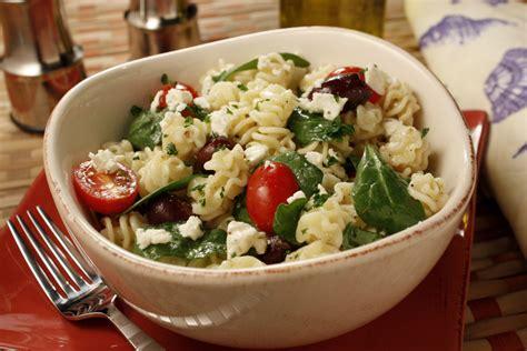 greek pasta salad recipe greek pasta salad mrfood com