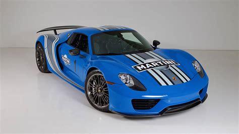 voodoo blue porsche buy the world s only factory voodoo blue porsche 918 spyder