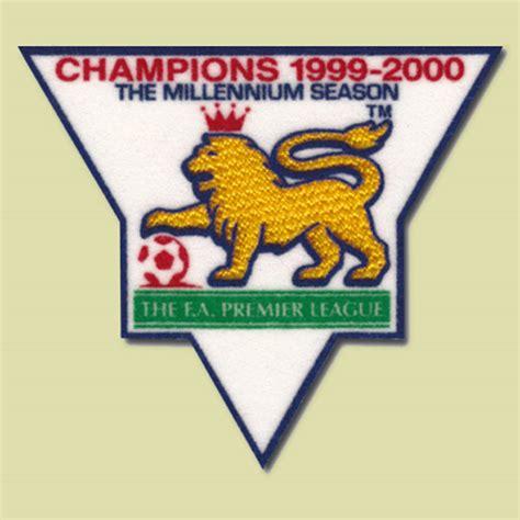 Patch Jersey Bpl Chions 1999 2000 premier league chion 1999 2000 gold patch badge manchester united timix patch