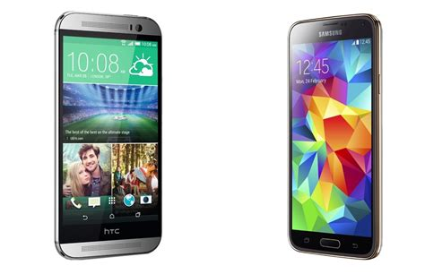 5 Hp Android Htc spec battle htc one m8 vs samsung galaxy s5 android authority