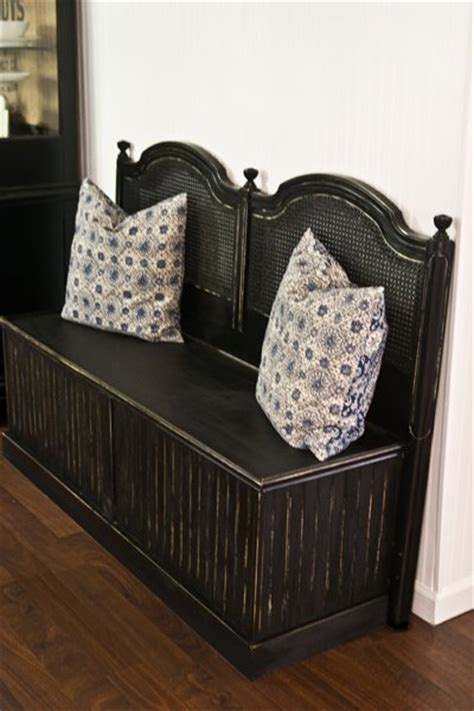 head board benches remodelaholic 25 headboard benches how to make your own