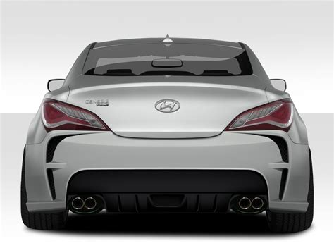 genesis coupe dimensions dimensions vg r rear bumper genesis coupe 2010 2014