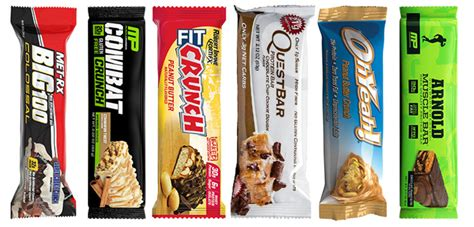 top 10 healthiest protein bars the 10 best tasting protein bars