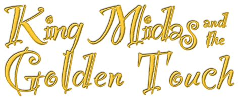 Golden Touch Parenting king midas and the golden touch clipart clipartxtras