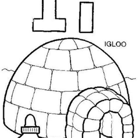 coloring page for igloo igloo coloring page shared by 443373 mulierchile