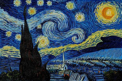 the most famous paintings starry night van gogh quotes quotesgram