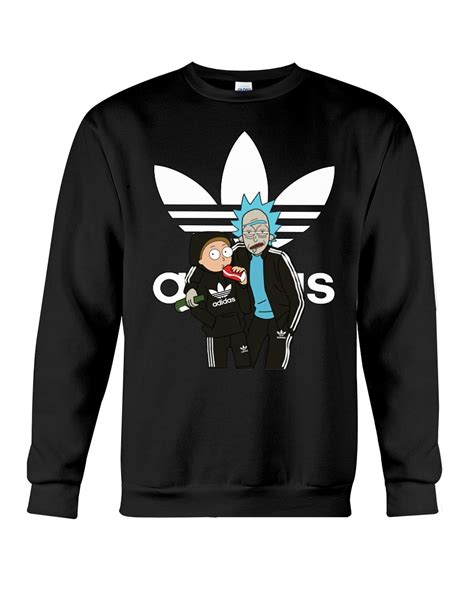 official rick and morty adidas shirt hoodie sweater eaglexshirt