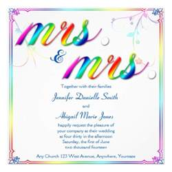 2 000 rainbow wedding invitations rainbow wedding
