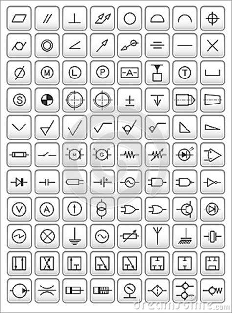 Engineering Symbols Royalty Free Stock Images - Image