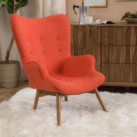 mid century living abelone contour upholstered side chairs acantha mid century modern contour lounge chair gdf studio