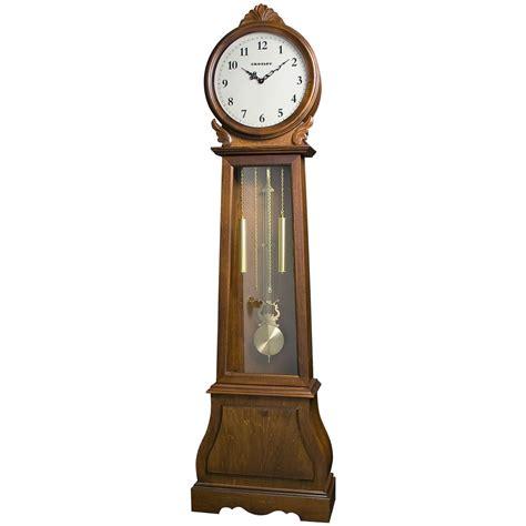 floor clocks crosley carlisle floor clock with glass door 159121 clocks at sportsman s guide