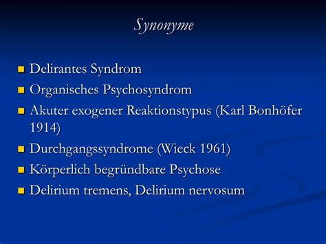 Organisches psychosyndrom definition of marriage