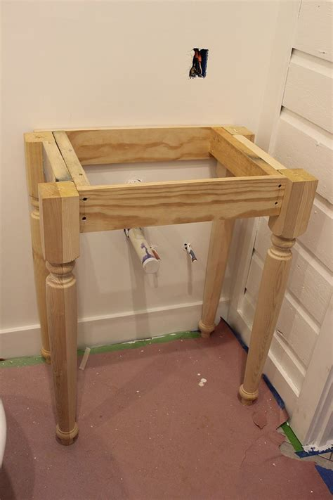 Build Your Own Vanity Table by How To Build A Vanity How To Build A Bathroom Vanity