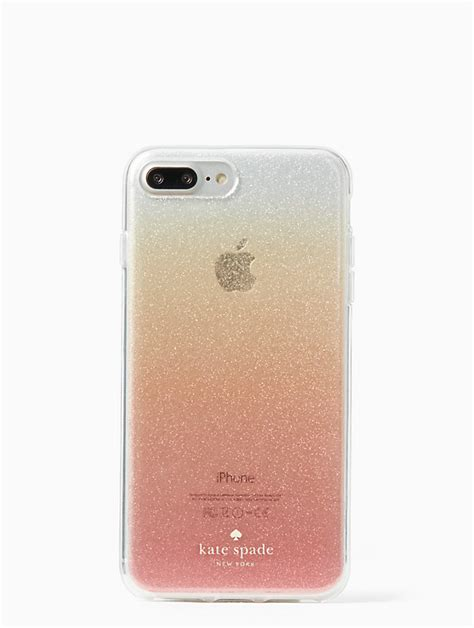 glitter ombre iphone 7 8 plus kate spade new york
