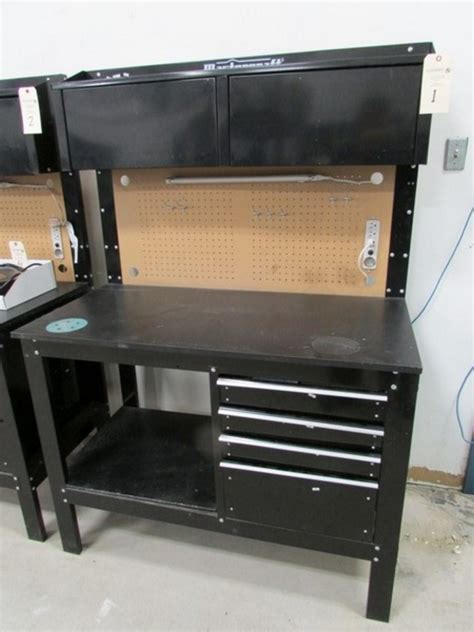 mastercraft work bench mastercraft workbench workstation 23 x 47 5 x 36 3