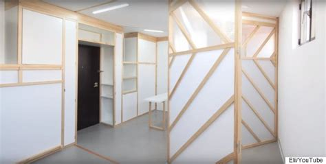 Origami Apartment Japan Origami Walls Turn Apartment Into Transformative Space
