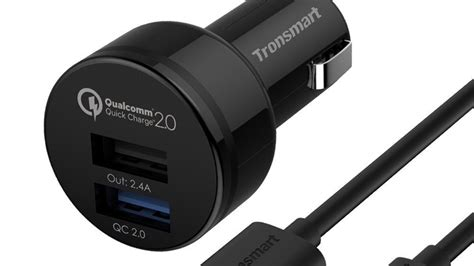 rapid phone charger tronsmart usb rapid car charger ts cc2pc review qualcomm