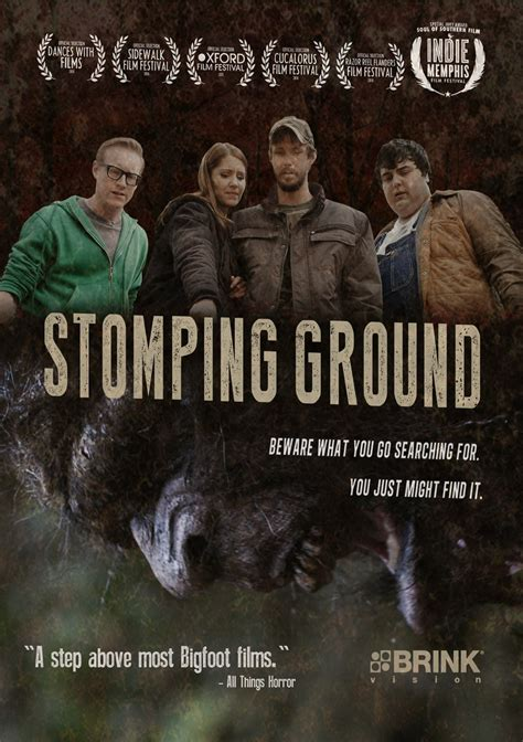 watch stomping ground 2014 full movie trailer bigfoot horror stomping ground to hit dvd vod on march 8th horrorphilia