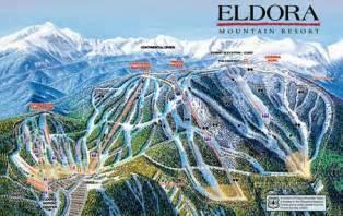 el colorado trail map skiing eldora colorado wandered