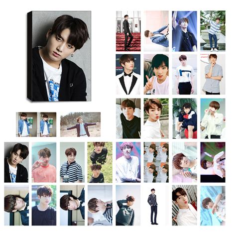Photocard Bts by Bts Jungkook Ver 2 Lomo Photocard Set Kpop Mall Usa