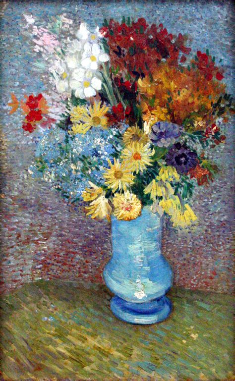 Vase With Flowers Gogh by Flowers In A Vase Gogh