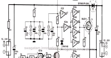 current multiplier circuit diagram simple dc to dc high current voltage doubler circuit 3