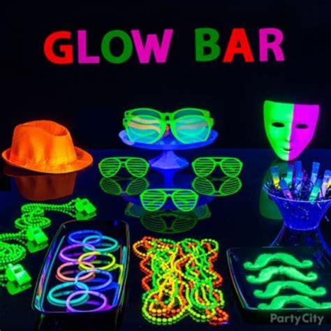 party city black light glow in the dark bubbly drink idea black light party