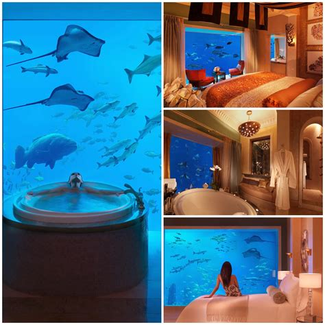 atlantis resort underwater rooms 4 amazing underwater hotels you need to stay in by yaya details style syndicate