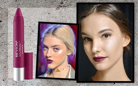 Lipstik Merah Marun Gelap lipstik warna gelap untuk trend tahun ini