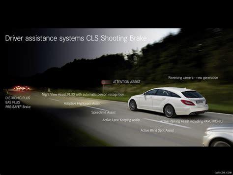 Brake Assistance System In Mercedes 2013 Mercedes Cls Shooting Brake Driver Assistance