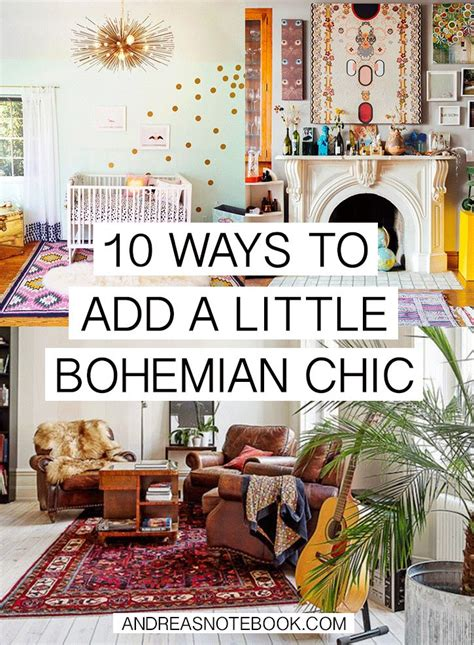 10 ways to add bohemian chic to your home andreasnotebook com boho chic pinterest