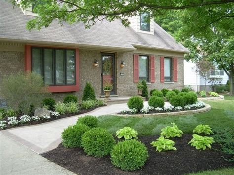 low maintenance front yards front yard landscaping picmia