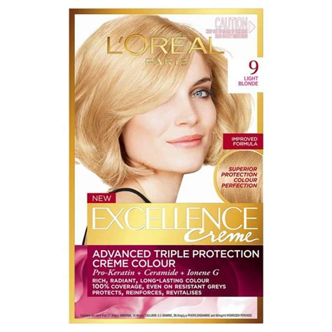 buy l39oreal loreal excellence hair buy excellence cr 232 me 9 light 1 pack by l oreal
