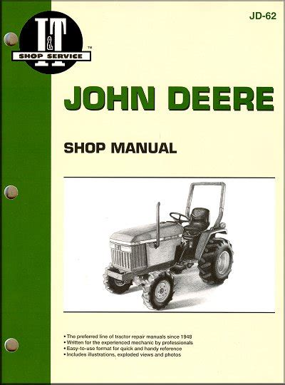 john deere tractor repair manual  itclymer