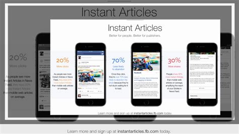 fb instant articles publishers using facebook s instant articles can now show