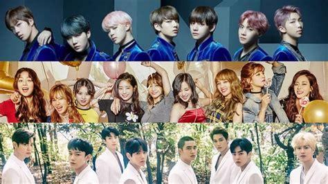 exo and twice bts twice exo top time magazine s list of 6 best k pop