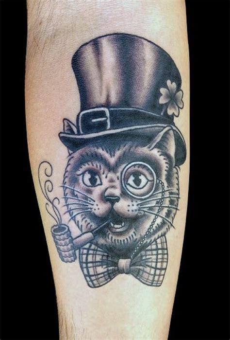 tattoo cat smoking cat tattoo images designs