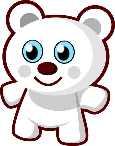 187 cute bear black white art scalable vector graphics svg inkscape adobe illustrator clip