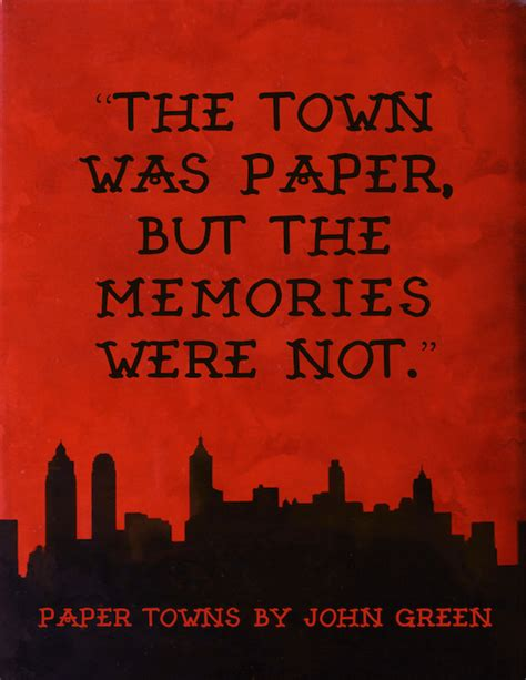Green Paper Towns quote book paper towns by green stay bookish