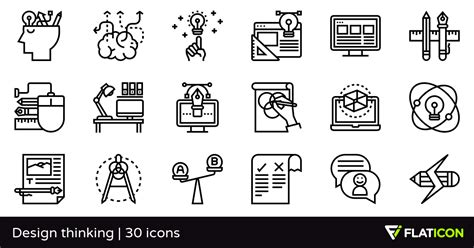 design thinking icon thinking icon design free icons