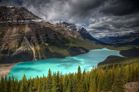 banff national park earth beautiful peyto lake canada world for travel