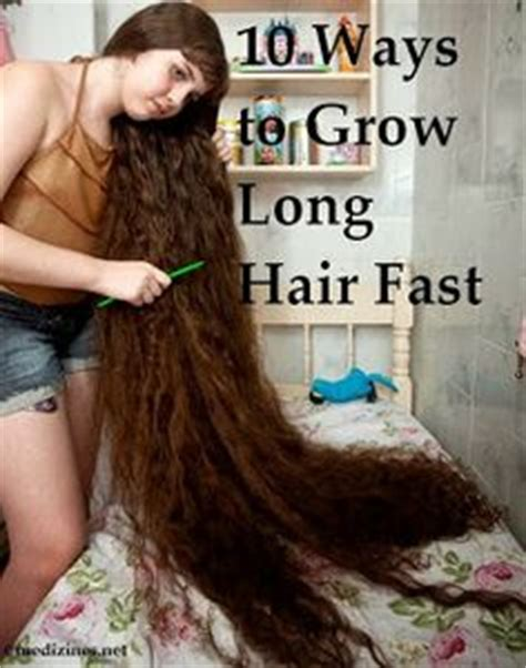 10 ways to grow long hair fast ツ hair long beautiful hair on pinterest 321 pins