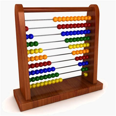 how to use an abacus with 10 3d model abacus abac