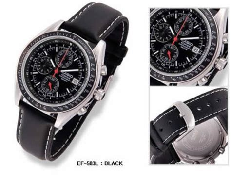 Casio Edifice Ef 503l 1av s watches casio mens edifice chronograph ef