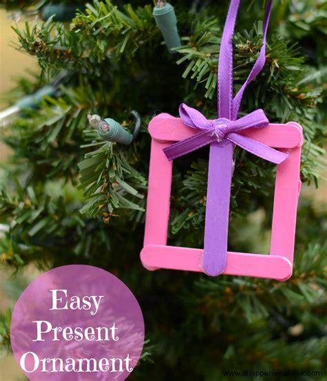 easy kid s present ornament