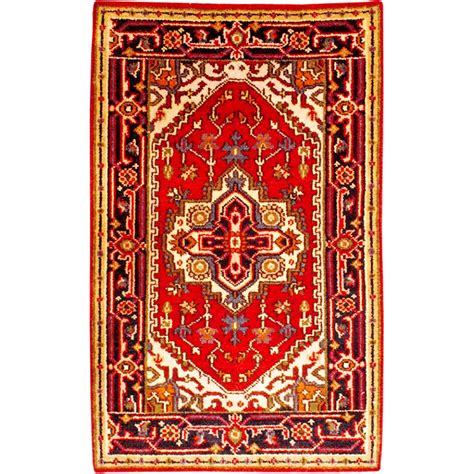 rug 4 x 7 size 2 7 x 4 2 serapi wool rug from india
