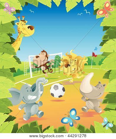 The Jungle Football jungle football border stock vector stock photos bigstock