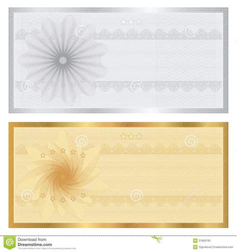 background voucher gift certificate voucher coupon template stock photos