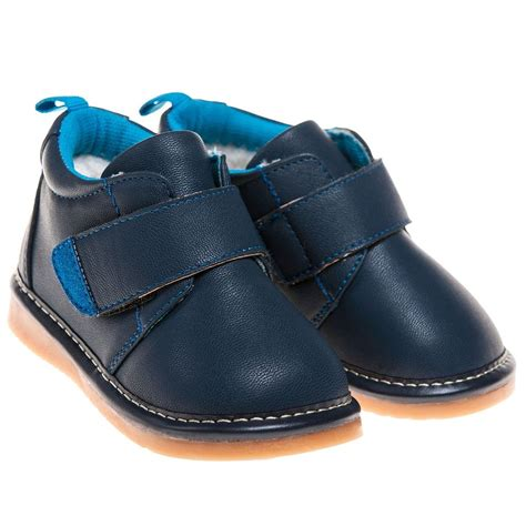 navy blue shoes for toddler boys toddler childrens faux leather squeaky boots shoes