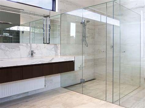 Bathroom Tile Floor Ideas For Small Bathrooms frameless showerscreens shower screens stegbar